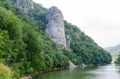 Statua Decebalus, królewiątko Dacia (współczesny Rumunia) Obraz Royalty Free