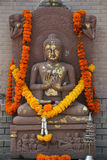 Statua decorata di Buddha Immagine Stock