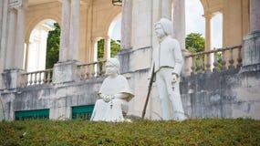 Statua dei bambini, Fatima, Portogallo fotografie stock libere da diritti