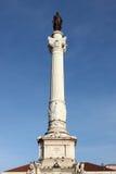 Statua dei DOM Pedro IV Fotografia Stock