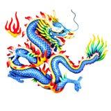 Statua dei draghi Fotografia Stock