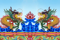 Statua dei draghi Immagini Stock Libere da Diritti