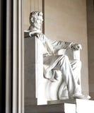 Statua del Abraham Lincoln Immagine Stock