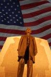 Statua del Abraham Lincoln Immagini Stock