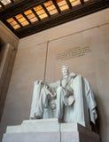 Statua del Abraham Lincoln in Washington DC Fotografie Stock