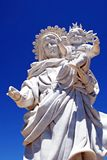 Statua del bambino e della madre, Almeria, Spagna. Fotografia Stock