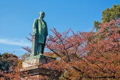 Statua del bronzo di Shinagawa Fotografia Stock