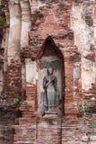 Statua del Buddha in Ayutthaya Fotografia Stock
