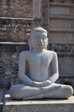 Statua del Buddha di meditazione Fotografia Stock Libera da Diritti