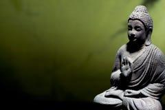 Statua del buddha di zen Fotografia Stock