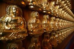 Statua del Buddha di zen Immagini Stock