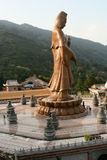 Statua del Buddha a Kek Lok Si Malesia Fotografia Stock