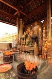 Statua del Buddha a Pha che Luang, Vientiane Fotografia Stock Libera da Diritti