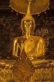 Statua del Buddha in pho del wat, Bangkok, Tailandia Fotografia Stock Libera da Diritti