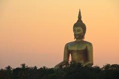 Statua del Buddha, provincia della cinghia del ANG fotografia stock libera da diritti