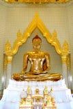 Statua del Buddha in tempiale Fotografia Stock