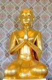Statua del Buddha in tempiale Fotografie Stock Libere da Diritti