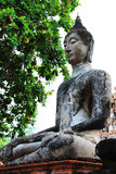 Statua del Buddha [Wat Mahathat] Fotografia Stock Libera da Diritti