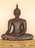 Statua del Buddha in Wat Pho, Tailandia immagini stock libere da diritti