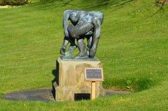 Statua del buon samaritano Immagine Stock