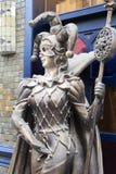 Statua del burlone Immagini Stock