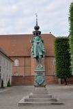 Statua del cancelliere Peder Griffenfeld, Copenhaghen Fotografia Stock