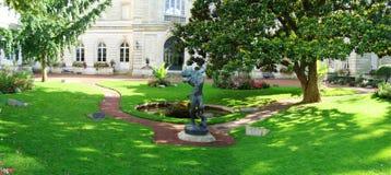 statua del cane di Montargis immagini stock