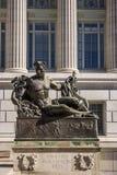Statua del capitale dello Stato del Missouri immagini stock