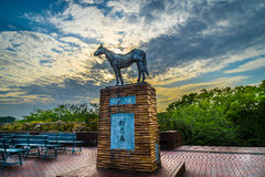Statua del cavallo Fotografia Stock Libera da Diritti