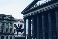 Statua del cavallo di Glasgow Fotografie Stock