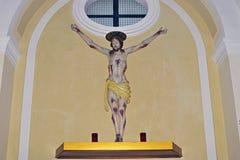 statua del christ Fotografie Stock Libere da Diritti
