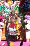 Statua del cinese Dio Guan Yu Fotografie Stock
