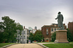 Statua del colonnello Prescott Immagini Stock Libere da Diritti