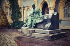 Statua del conteggio Sandor Karolyi immagini stock