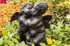 Statua del cupido Fotografia Stock