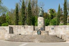 Statua del D Afonso Henriques immagini stock