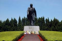 Statua del Deng Xiaoping fotografia stock libera da diritti