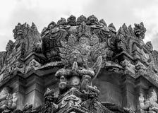 Statua del dio dell'uccello Fotografie Stock