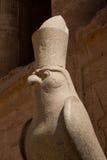 Statua del dio Horus Fotografie Stock