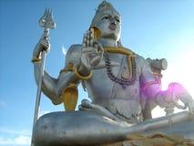 Statua del dio indù Shiva Fotografia Stock