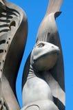 Statua del doccione della pietra di Las Vegas Immagine Stock