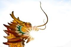 Statua del drago Fotografia Stock