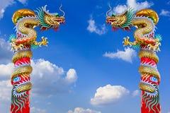 Statua del drago. fotografia stock libera da diritti