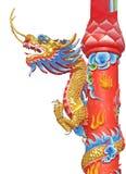 Statua del drago Fotografia Stock Libera da Diritti