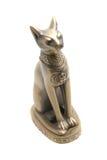 Statua del gatto dell'Egitto Immagine Stock Libera da Diritti
