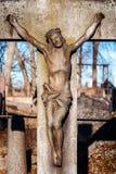 Statua del Gesù Cristo Fotografia Stock