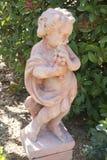 Statua del giardino Fotografie Stock