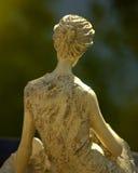 Statua del giardino della donna Fotografia Stock