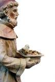 Statua del giardino della st Francis Fotografie Stock