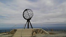 Statua del globo Fotografie Stock